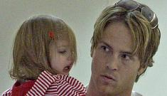 Larry Birkhead and little Dannielynn move out of Anna Nicole's house