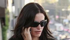 """Courteney Cox developing a sitcom called """"Cougar Town"""""""