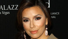 Did Eva Longoria mess with her face, or is her foundation just too light?