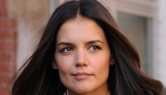 Katie Holmes hates Noel Gallagher, vigorous handshakes and laughter