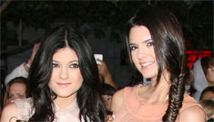 Kendall and Kylie Jenner (Kardashian): school for us is like 'living two lives'