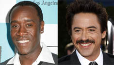 Robert Downey Jr. & Don Cheadle first to sign on for Avengers