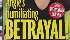 Brad Pitt and Diane Kruger fake flirtation story hits the German press