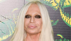 """Donatella Versace squashes photoshoot using """"real"""" people to model her H&M line"""