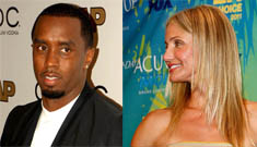 Cameron Diaz claims Diddy date was business, but she's been with him for a while
