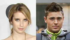Is Emma Roberts cheating on Chord Overstreet with Zac Efron?
