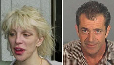 Mel Gibson staged a one-man intervention for Courtney Love