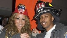 Mariah & Nick dress as a firefighter and a hooker visiting the firehouse