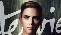 Scarlett Johansson covers Interview mag: boyish or still a sexy siren?
