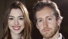 Anne Hathaway is engaged to her boyfriend of three years, Adam Shulman