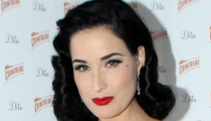 Dita Von Teese vs. Kelly Brook: who looked better at the Cointreau event?