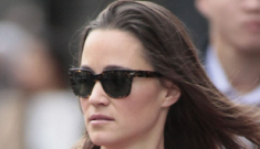 Pippa Middleton's $120 Zara coat: too cute to be worn just once?