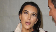 Kim Kardashian hit Kris Humphries on TV, Dr. Drew calls it domestic violence