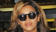 Beyonce, by her own claims, is more than eight months pregnant right now?