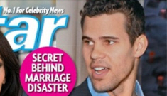 Kris Humphries wants a separation and annulment,   and he might be gay too