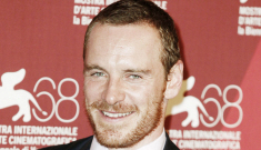 """""""Michael Fassbender will bang you with his eyes in the new 'Shame' trailer"""" links"""