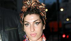 Amy Winehouse actually looks a little better