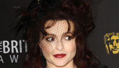 Helena Bonham Carter in red and black Vivienne Westwood: gorgeous & perfect?