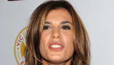 Elisabetta Canalis throws a massive hissy fit, gives boyfriend his purse back