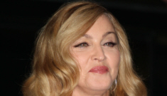 Madonna's all-black 'W.E.' screening outfit: lovely and age-appropriate?