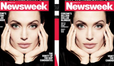 Angelina Jolie on Newsweek, approached filmmaking like a UNHCR mission