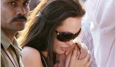 Angelina Jolie is fainting all over the place