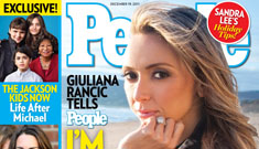 Giuliana Rancic's cancer struggle on the cover of People