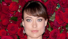 """Olivia Wilde is settling for """"just-for-now dong"""" Jason Sudeikis"""