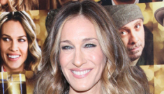 Sarah Jessica Parker in Pauline Trigère at the 'NYE' premiere: lovely or fug?