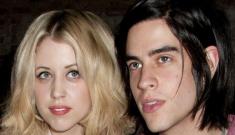 Peaches Geldof, 22, is engaged to her fey boyfriend of a year, Thomas Cohen