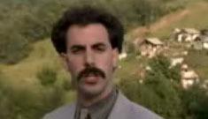 The intro to the Borat Movie