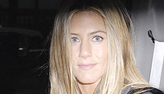 Jennifer Aniston puts in her publicity-laden 24 hours for charity