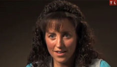 Duggar family shares pics at miscarried baby's memorial showing her tiny hands & feet