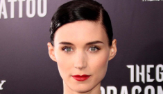 Rooney Mara in black Prabal Gurung in NYC: unflattering and try-hard?