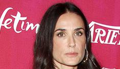Enquirer: Demi Moore's AA sponsor died, will Demi start boozing again?