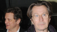 Colin Firth is trying to help Gary Oldman get his first Oscar nomination