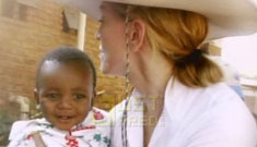 Did Madonna choose her orphan based on HIV status