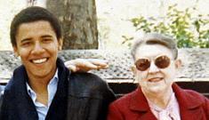 Barack Obama's grandmother dies (update: video of Obama)