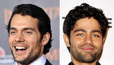 Henry Cavill is a babe magnet and Adrian Grenier is thrilled to be his wingman