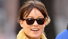 Olivia Wilde & Jason Sudeikis are loved up in NYC: trading   up or trading down?