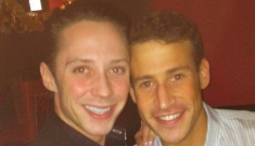 Johnny Weir married his boyfriend of less than a year in NYC