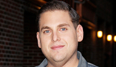 Jonah Hill is BFFs with Brad Pitt now, Brad & Angelina went to his b-day party