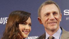 Daniel Craig & Rachel Weisz walk their first red carpet together: sexy or meh?