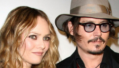 Vanessa Paradis is worried that Johnny Depp has fallen   for Eva Green