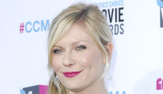 Kirsten Dunst in black Christian Dior: too fussy and smug or spot on?