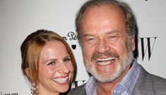 Kelsey Grammer's 32 year-old fourth wife is pregnant with twins