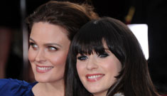The ladies of comedy: Zooey Deschanel, Melissa McCarthy, Tina Fey & Amy Poehler
