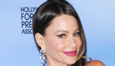 Sofia Vergara versus Frieda Pinto: who looked better in teal at the Globes?