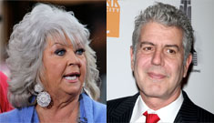 Anthony Bourdain on Paula Deen: 'getting into leg  breaking [to] sell crutches'