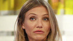 Cameron Diaz was 'straddling' Diddy at a party, but he's still with his girlfriend